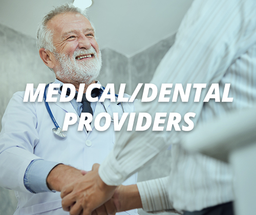 medical / dental providers